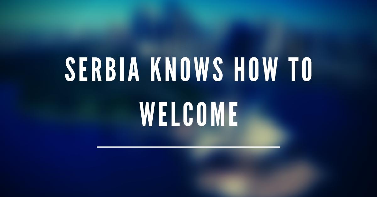 Serbia has welcomed Belarus
