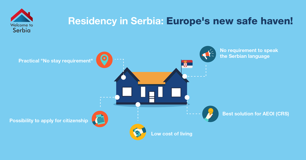 Residency in Serbia: Europe's new safe haven